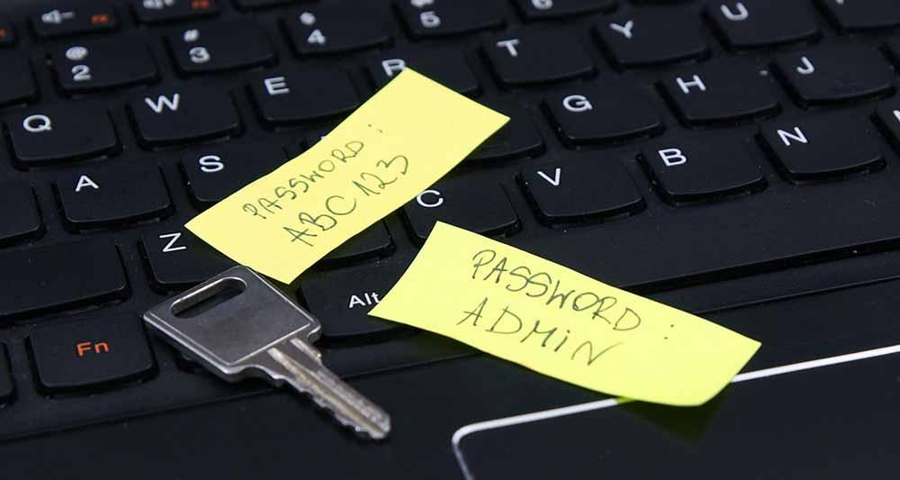 ۱۰ رمز عبوری که باعث هک شدن حساب شما می شود
