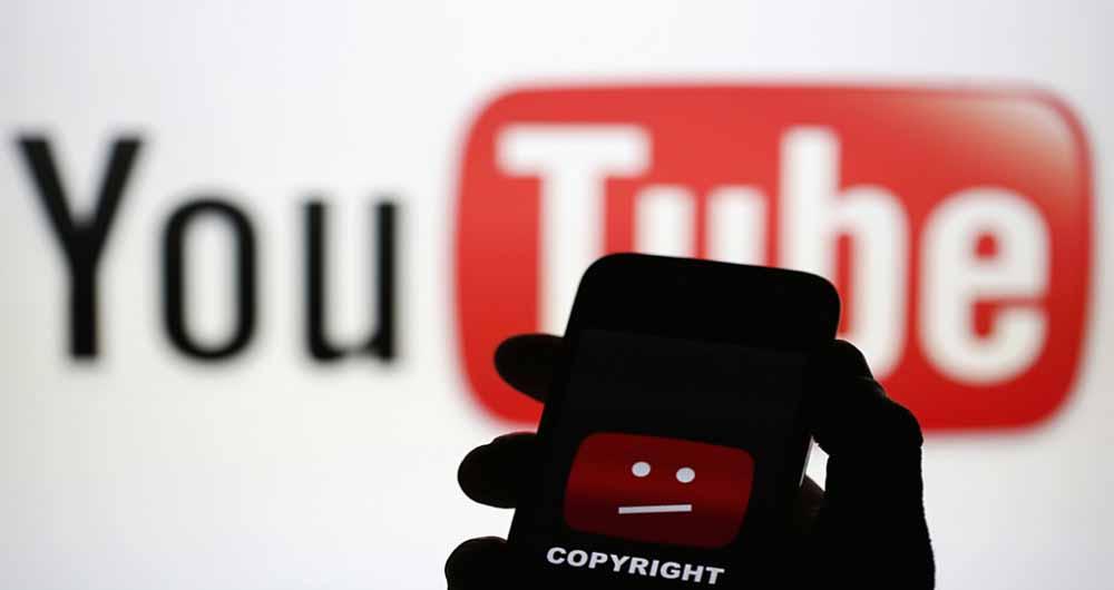 حل مشکل نقض کپی رایت در یوتیوب