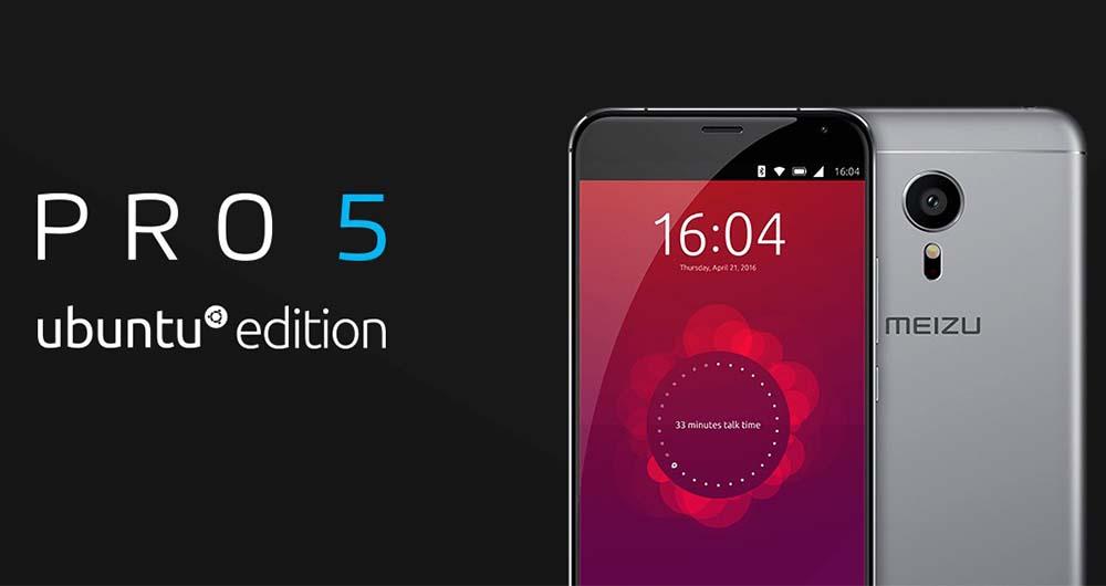 نسخه اوبونتویی گوشی PRO 5 میزو دلار عرضه شد