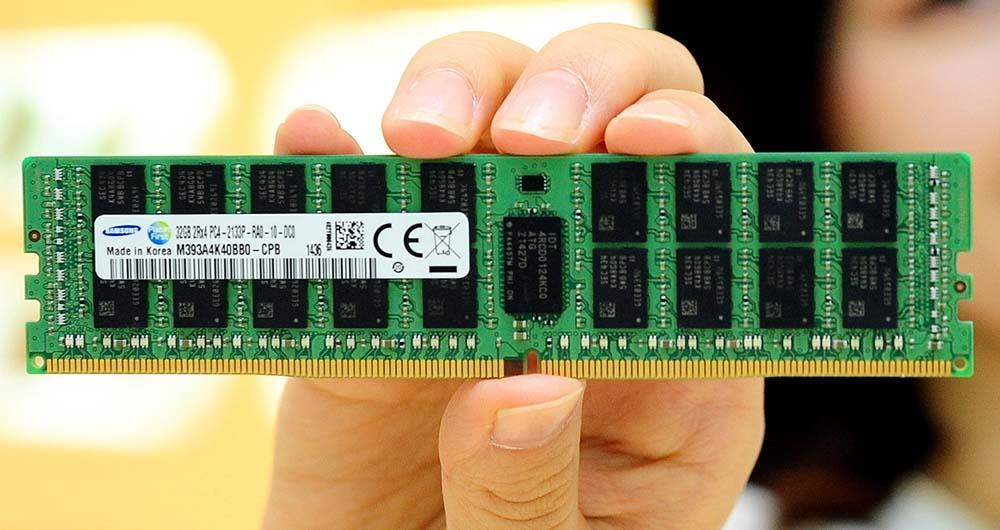 تولید انبوه DRAMهای جدید سامسونگ با لیتوگرافی ۱۰ نانومتری آغاز شد