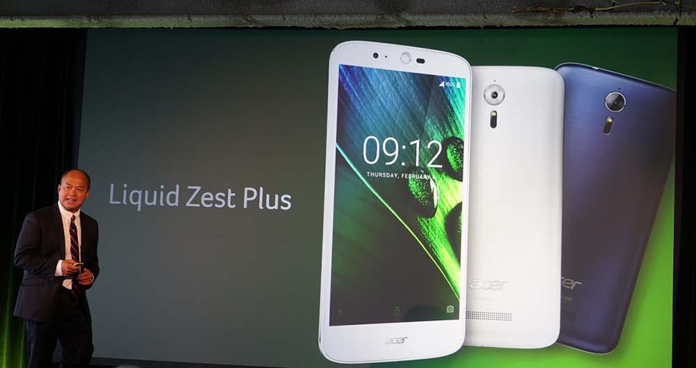 گوشی هوشمند مقرون به صرفه Liquid Zest Plus ایسر معرفی شد