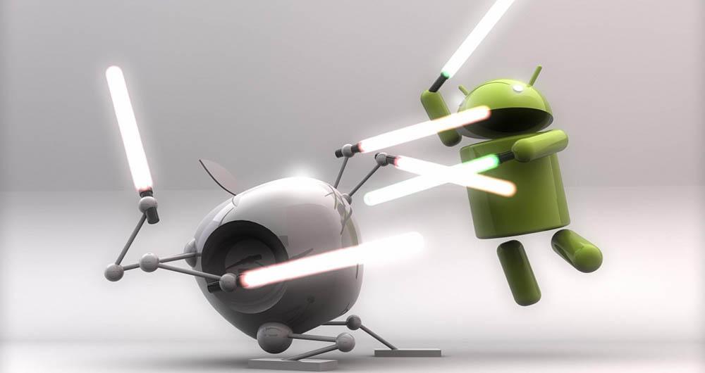 سهم ۹۷ درصدی فروش بازار موبایل آمریکا در دست گوگل و اپل
