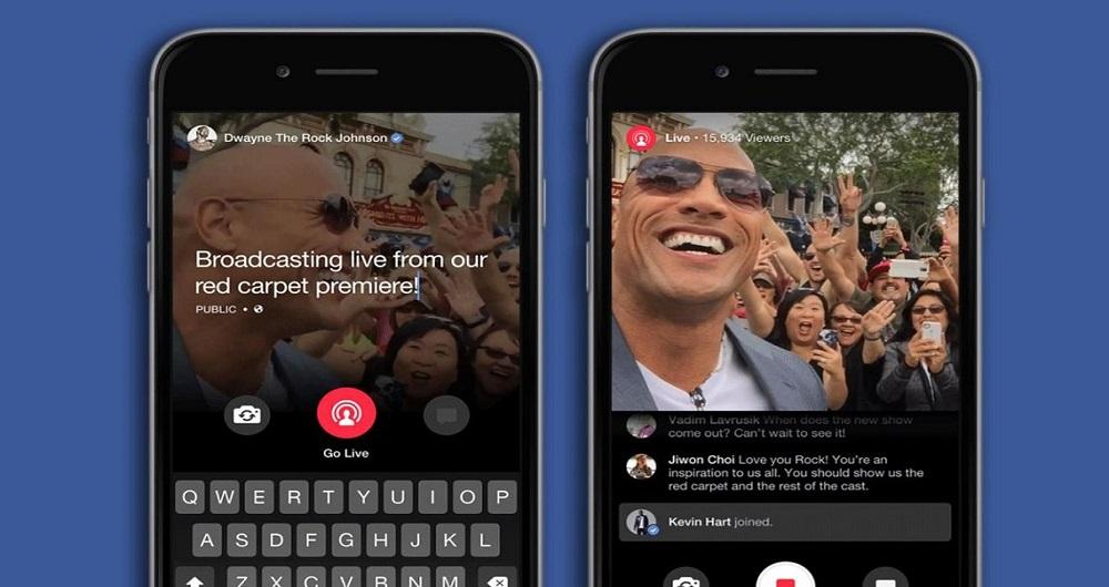 جدال قابلیت پخش زنده فیسبوک با پریسکوپ توییتر