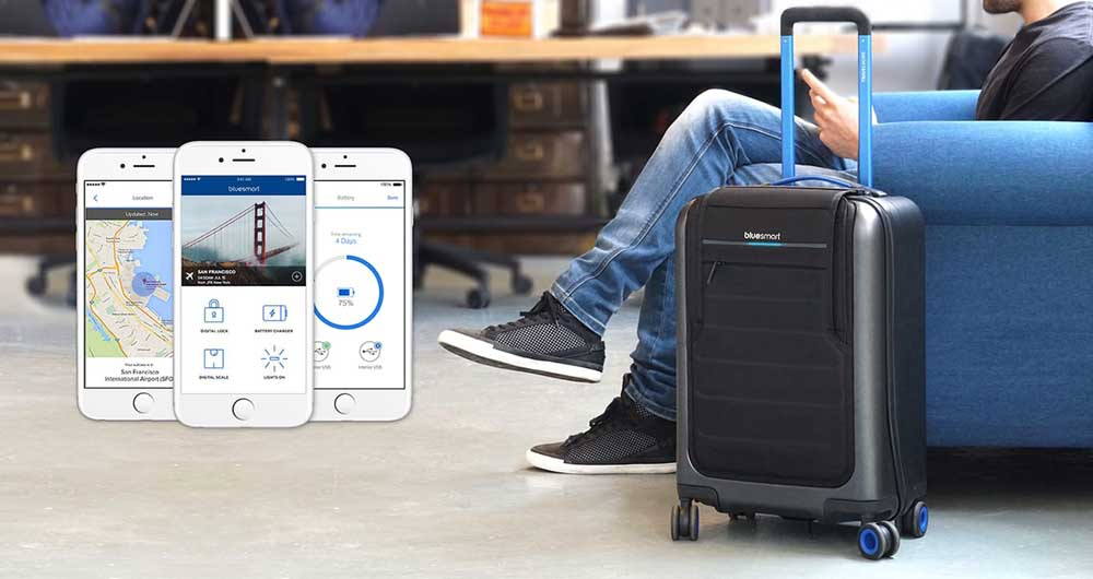 گام بلند شرکت رادن در زمینه چمدان هوشمند