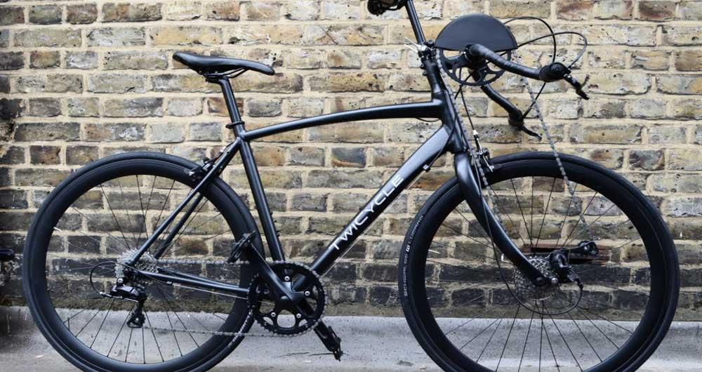 استفاده از بازوان برای حرکت دوچرخه Twicycle