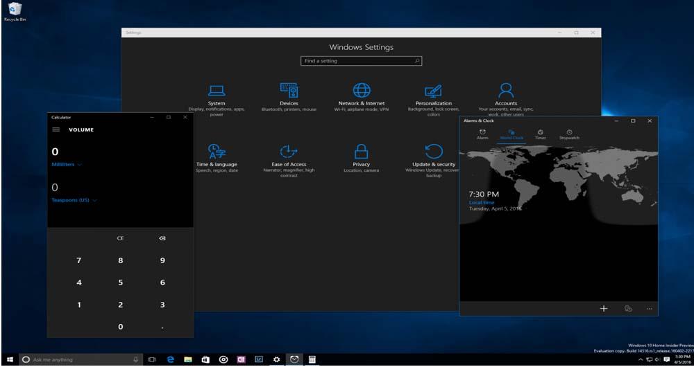 جدیدترین نسخه ویندوز ۱۰ با امکانات جدید عرضه شد