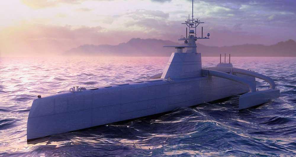 ساخت کشتی بدون سرنشین توسط آمریکا