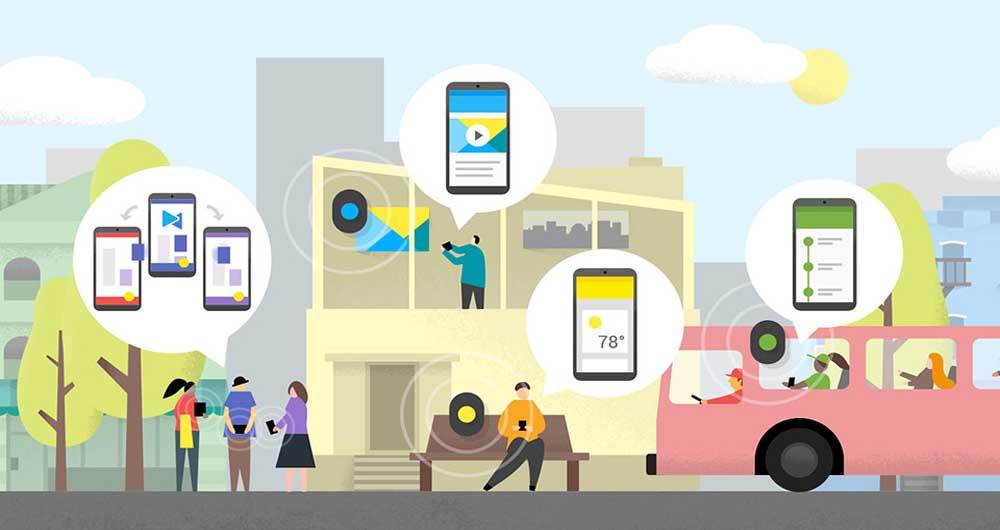گوگل به دنبال امن کردن ارتباطات بلوتوثی beacon است
