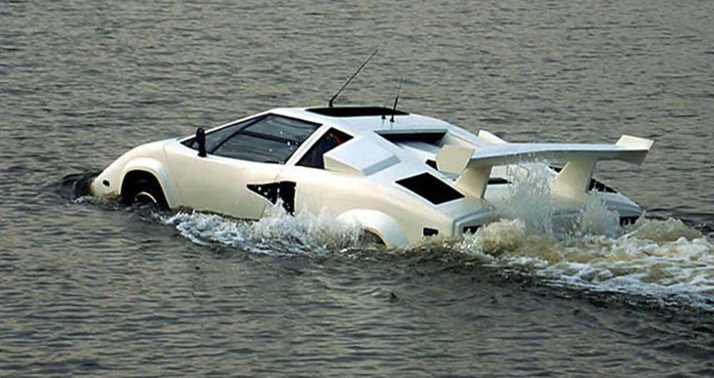 کانتاچ، تنها خودروی آب پیمای لامبورگینی