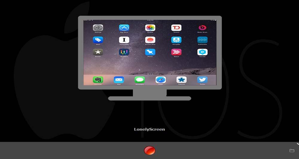 اشتراک تصویر صفحه آیفون و آیپد با رایانه ویندوزی