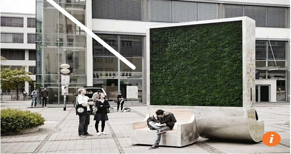 ایجاد هوای پاک با درخت شهری هوشمند