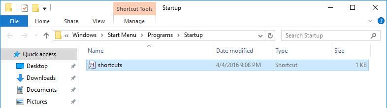 schedule-autohotkey-shortcut-created