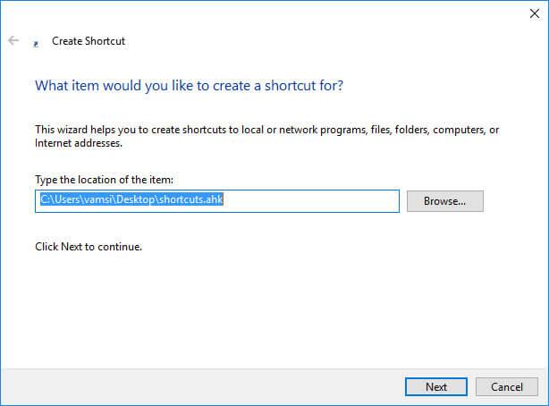schedule-autohotkey-shortcut-location