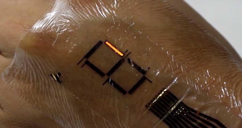 پوست دیجیتال، اطلاعات سلامت بدن افراد را نشان می دهد