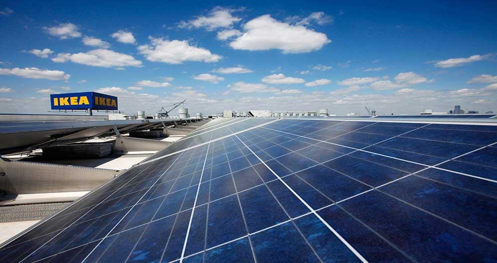 کمک قطرات باران به پانل های خورشیدی