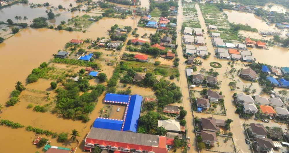 خانههای شناور برای مقابله با خطر سیل