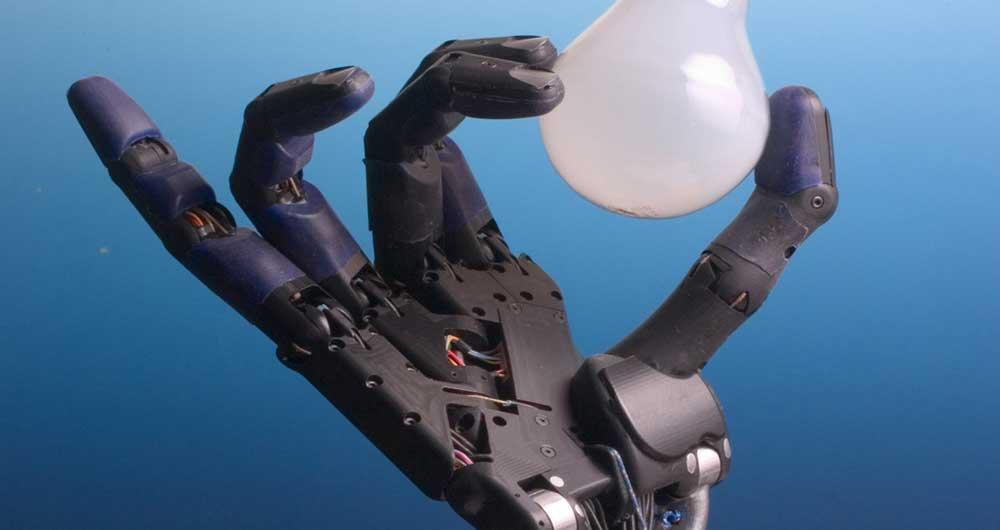 حس لمس واقعی ربات ها به کمک پوست مصنوعی
