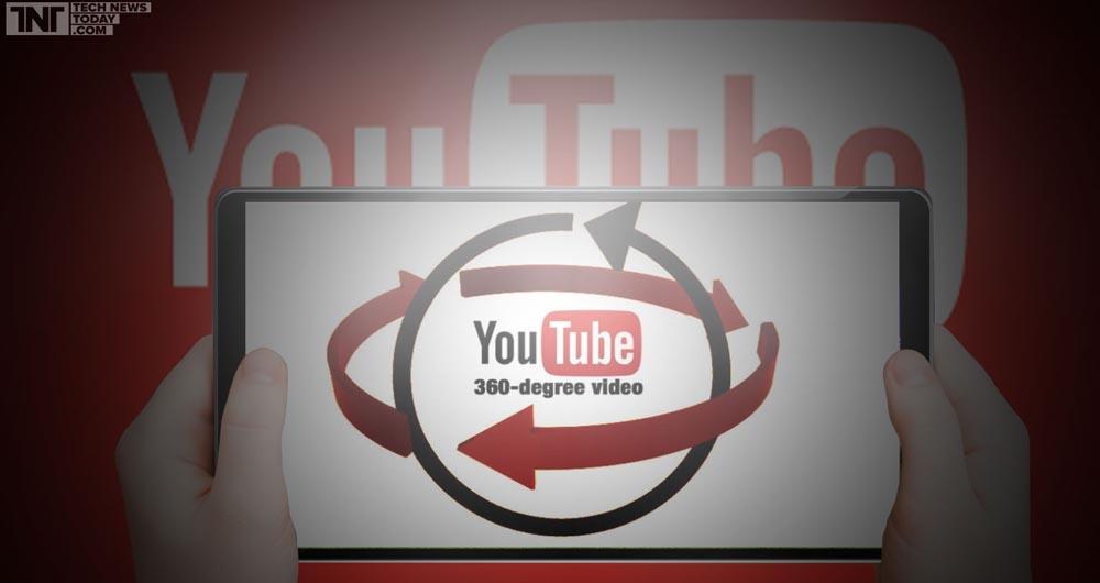 با یوتیوب فیلم های ۳۶۰ درجه ببینید