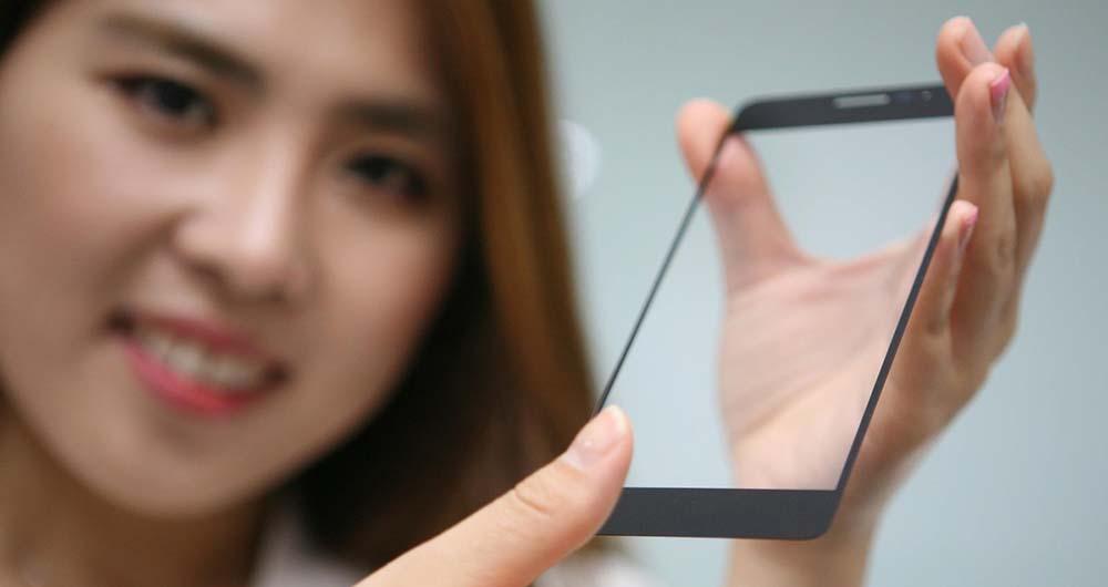 نمایشگر با قابلیت اسکن اثر انگشت الجی رسما معرفی شد