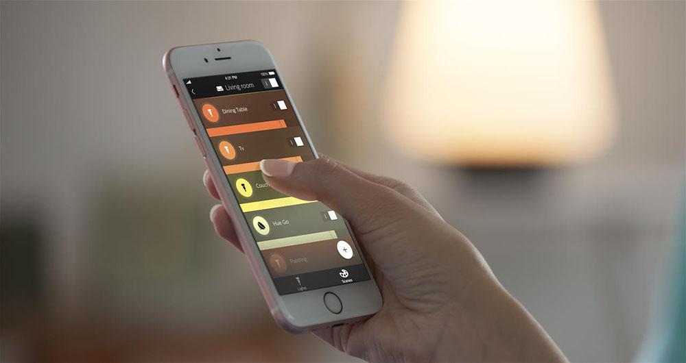 فیلیپس اپلیکیشن جدیدی برای لامپ هوشمند خود منتشر کرد