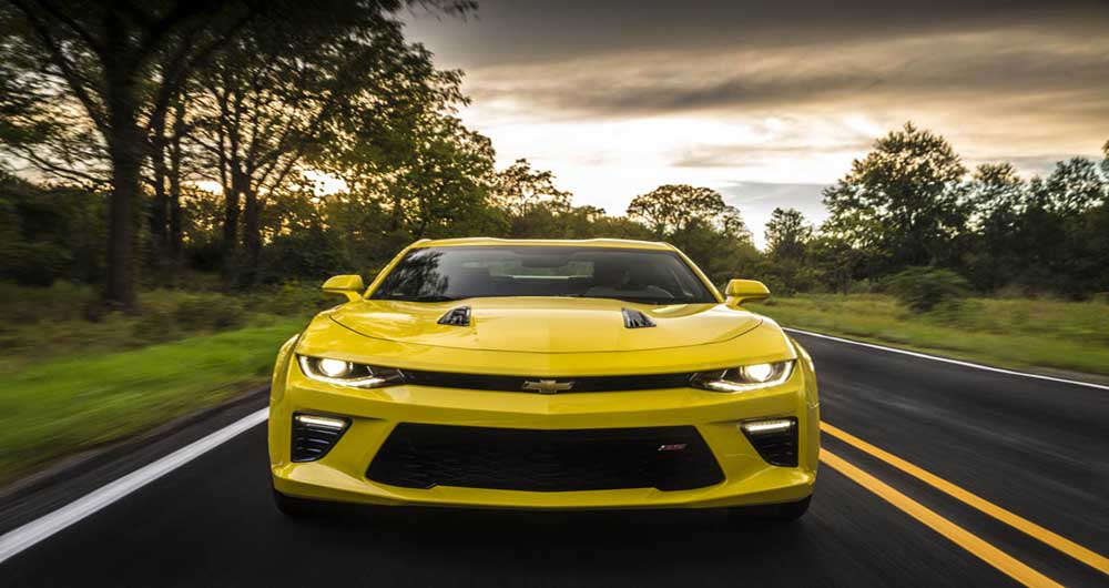 Less weight and more power combines for performance success. With weight savings of up to 390 pounds (177 kg), the all-new Camaro resets performance benchmarks for the segment. The all-new, 455-hp (336 kW) Camaro SS coupe – the most powerful Camaro SS ever – sprints from 0-60 mph in 4.0 seconds and covers the quarter-mile in 12.3 seconds, when equipped with the all-new eight-speed paddle-shift automatic transmission.