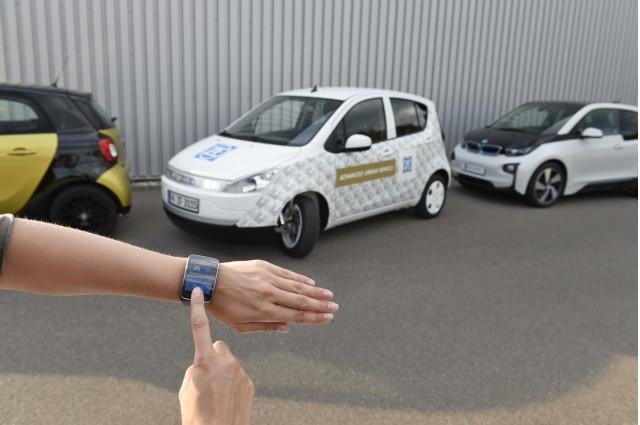 پارک خودرو با تلفن هوشمند