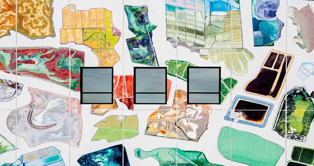 ابتکار گوگل در نقاشی دیوار ساختمان مرکز داده
