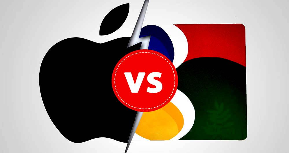 سبقت گوگل از اپل در بازار سهام