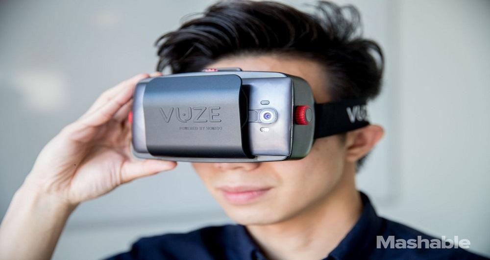 دوربین واقعیت مجازی vuze vr