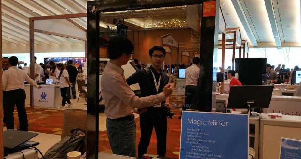 آینه جادویی مایکروسافت عواطف و احساسات را تشخیص می دهد