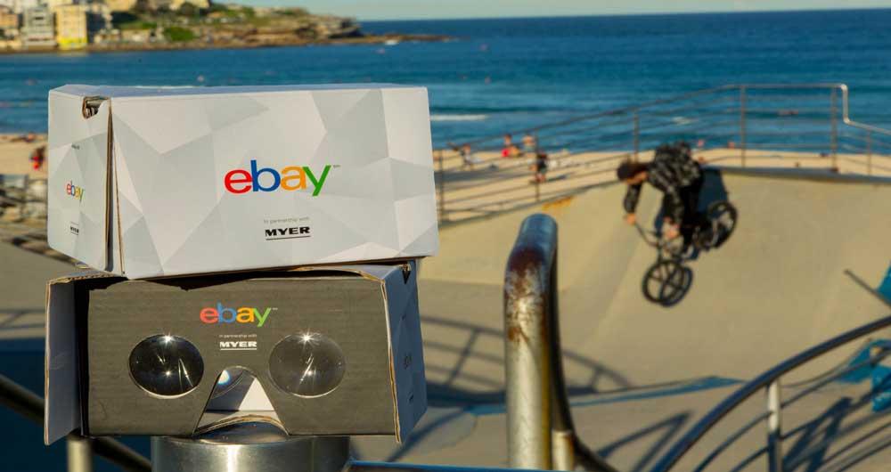 eBay اولین فروشگاه واقعیت مجازی را میسازد