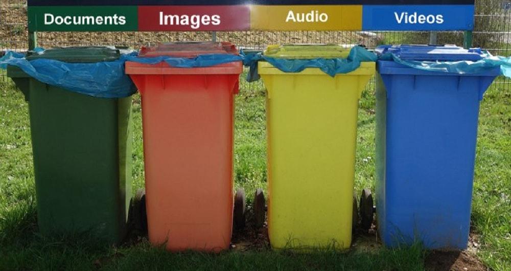 سطل بازیافتی برای فایل های اندروید