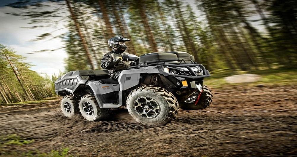 ATV با ۶ چرخ محرک بجای ۴ چرخ