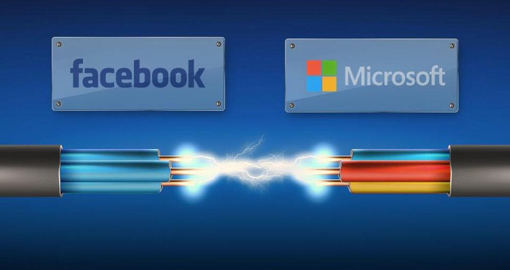 ماجراجویی مایکروسافت و فیسبوک در اعماق اقیانوس اطلس