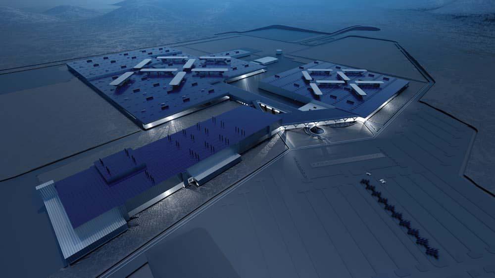 شرکت تولیدی Faraday Future کارخانه های فوق مدرن می سازد
