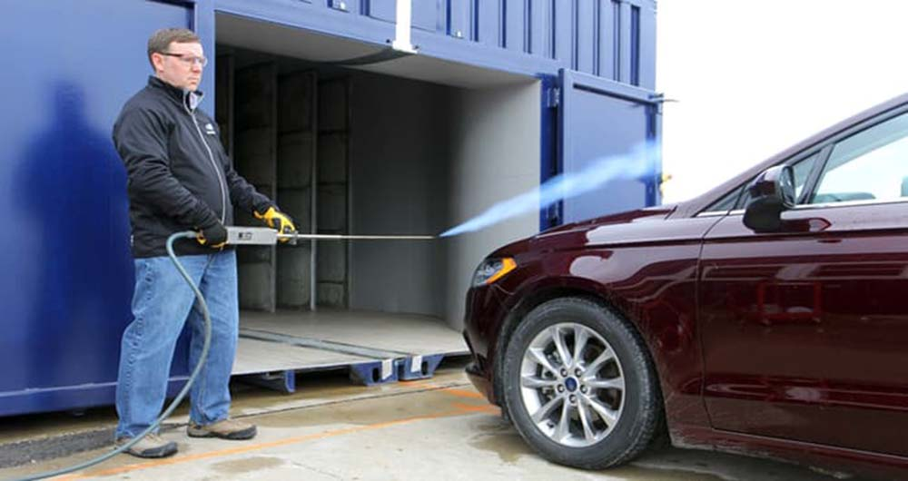 سیستم جدید فورد برای آزمایشات تونل باد