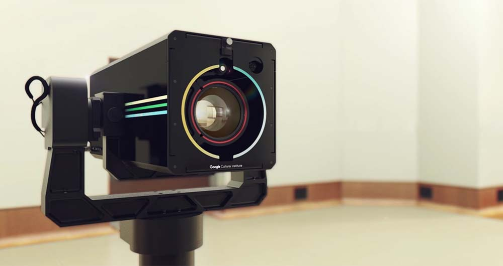 دوربین گیگاپیکسلی قوی گوگل برای حفظ آثار فاخر هنری