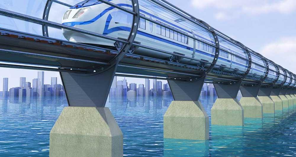 اولین آزمایش Hyperloop در صحرای نوادا فقط پنج ثانیه دوام آورد
