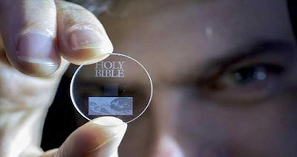 ثبت تاریخچه زندگی انسان در حافظه های پنج بعدی دائمی