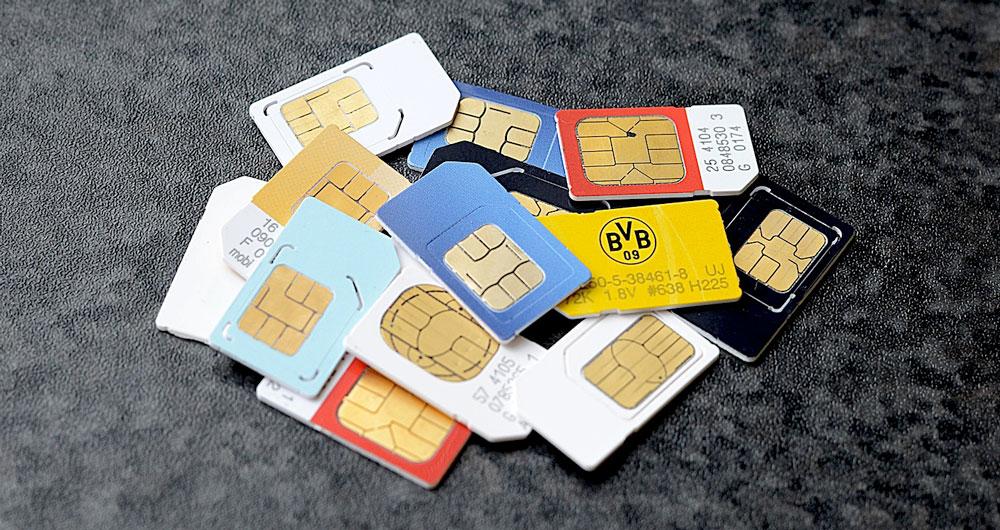 سیم کارت های بی نام و نشان هم چنان در خدمت مشترکان
