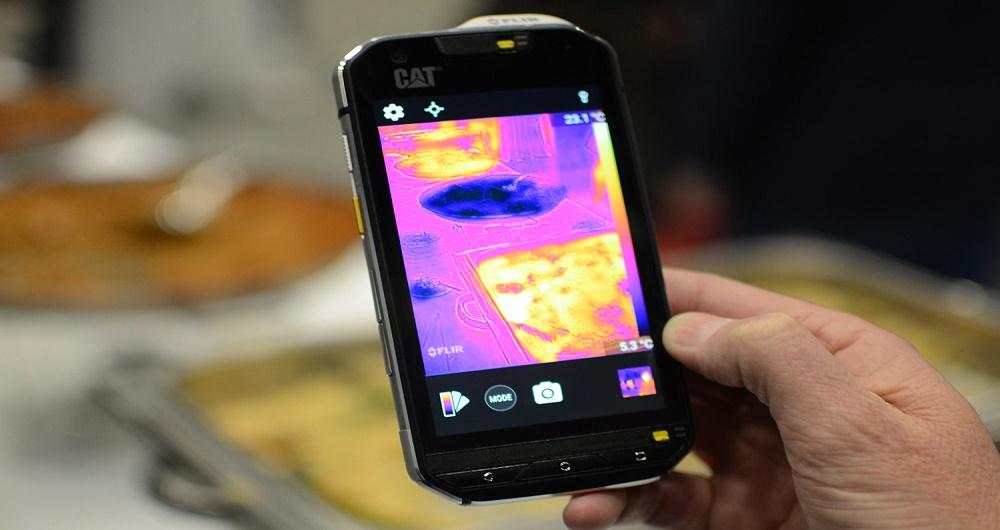 عرضه قریبالوقوع CAT S60، اولین گوشی هوشمند مجهز به دوربین حرارتی