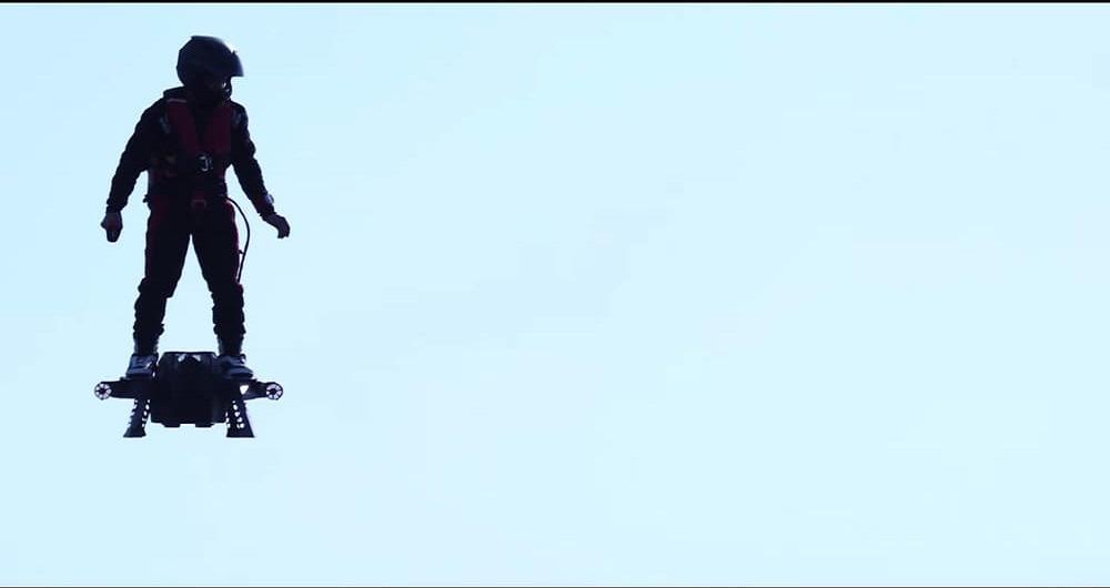 قهرمان جت اسکی فرانسوی اختراع شگفت انگیز دیگری ثبت کرد