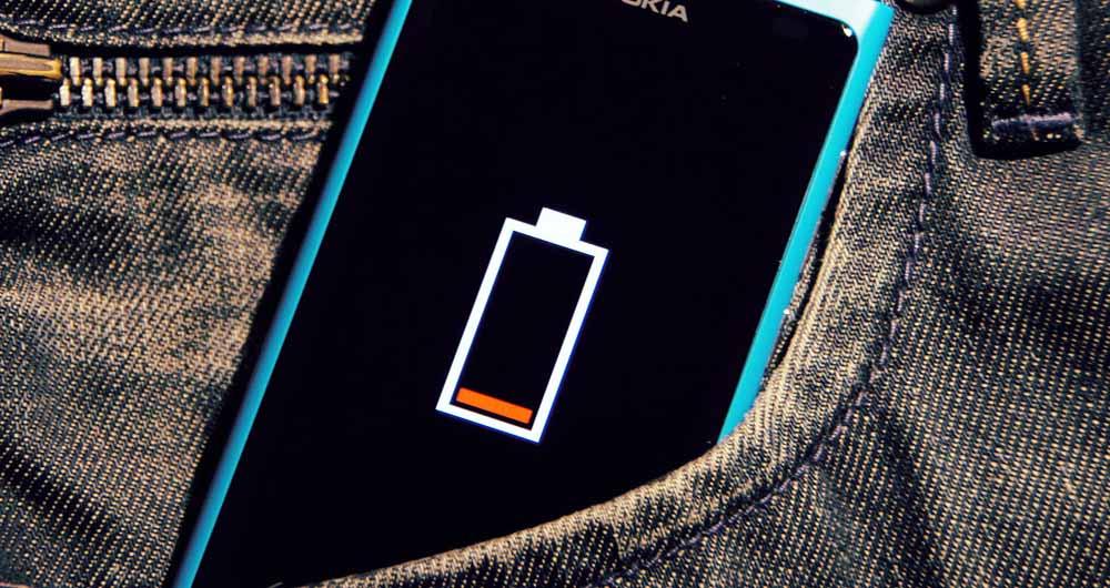 آمار شگفتانگیز طول عمر باتری تلفنهای هوشمند