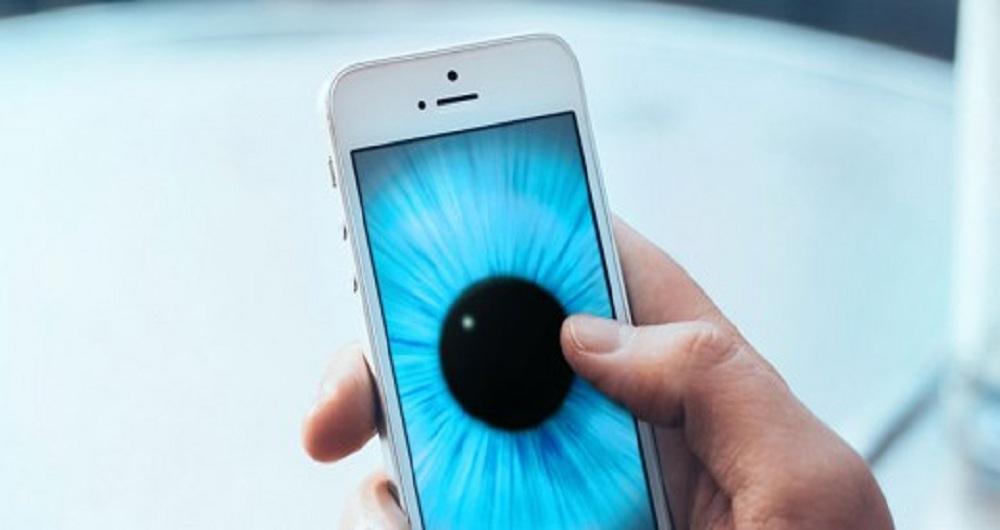 نور آبی موبایل