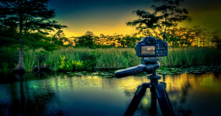 Canon Rebel T3 Camera In HDR Action