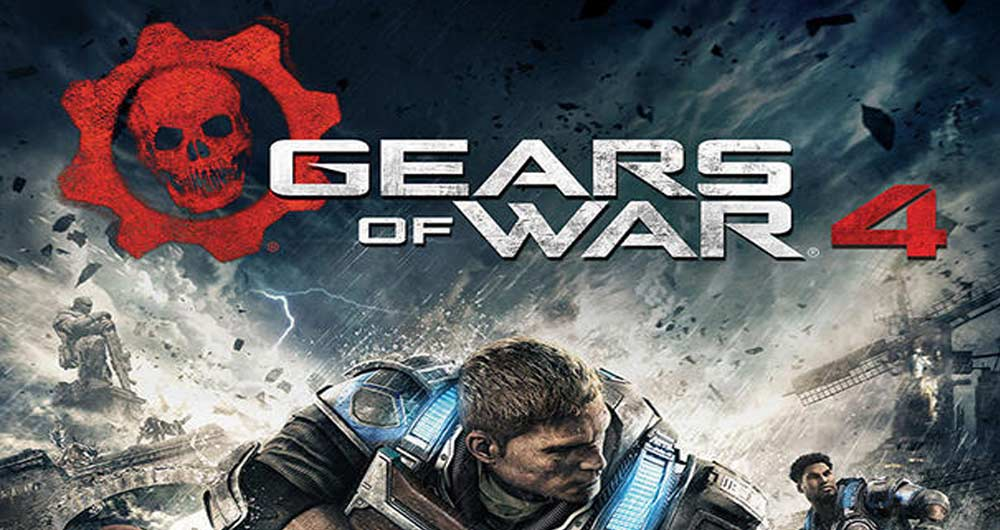پیشرفت گرافیک عنوان Gears of War 4 را مشاهده کنید