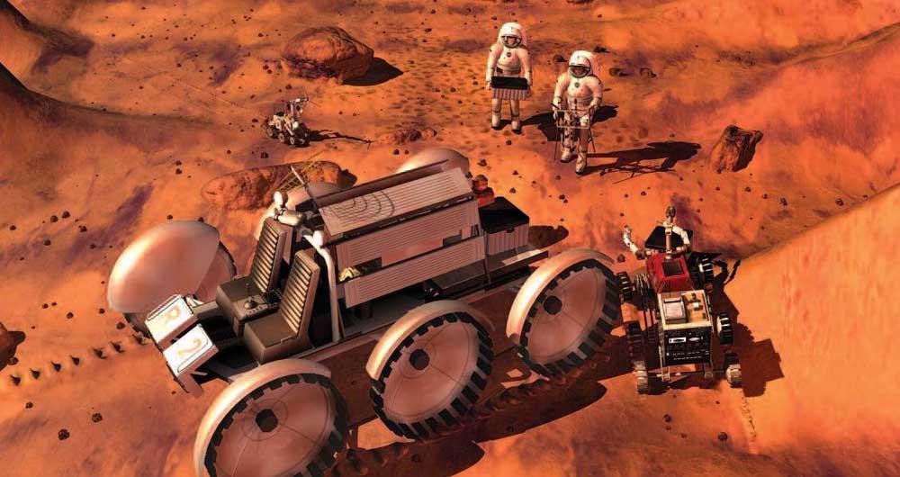 کشت گوجه فرنگی در مریخ موفقیت آمیز گزارش شد
