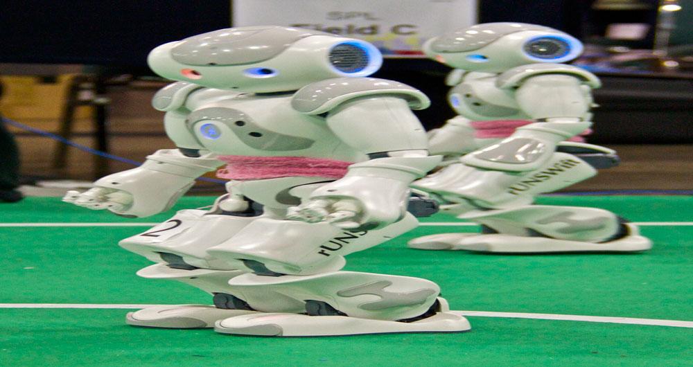 تیم های ایرانی در مسابقات جهانی روبوکاپ