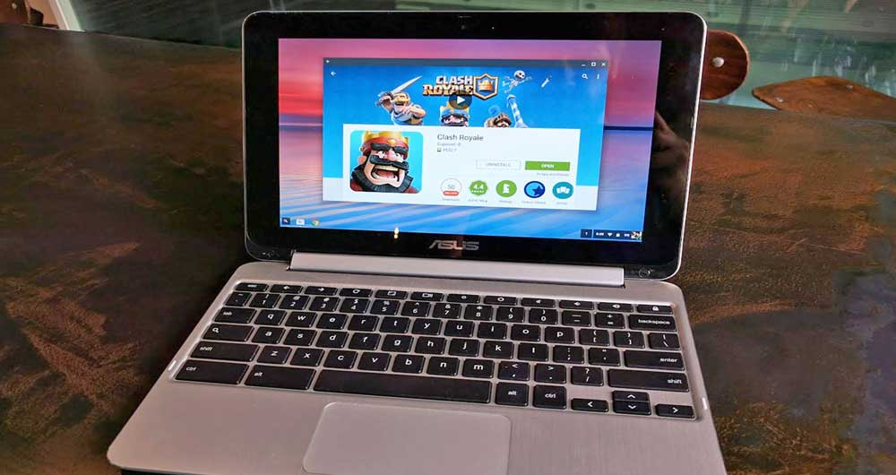 گوگلپلی به کرومبوک راه پیدا کرد