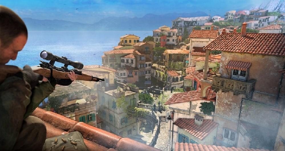 نمایی از بازی Sniper Elite 4
